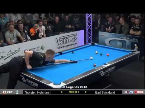Thorsten Hohmann vs Earl Strickland :: Batalla de Leyendas 2018 - German Pool Masters