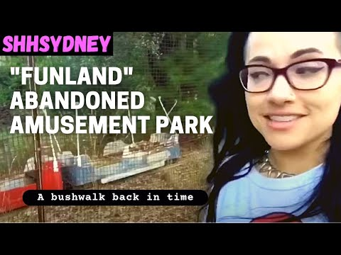 Exploring abandoned amusement park Sydney, Australia - forgotten Funland of Warragamba