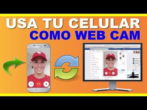 Usar Celular Como Camara Web 2019│Usar Móvil Como Cámara Web 2019