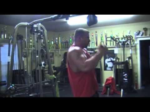 Monster Michael Todd's Arm Training