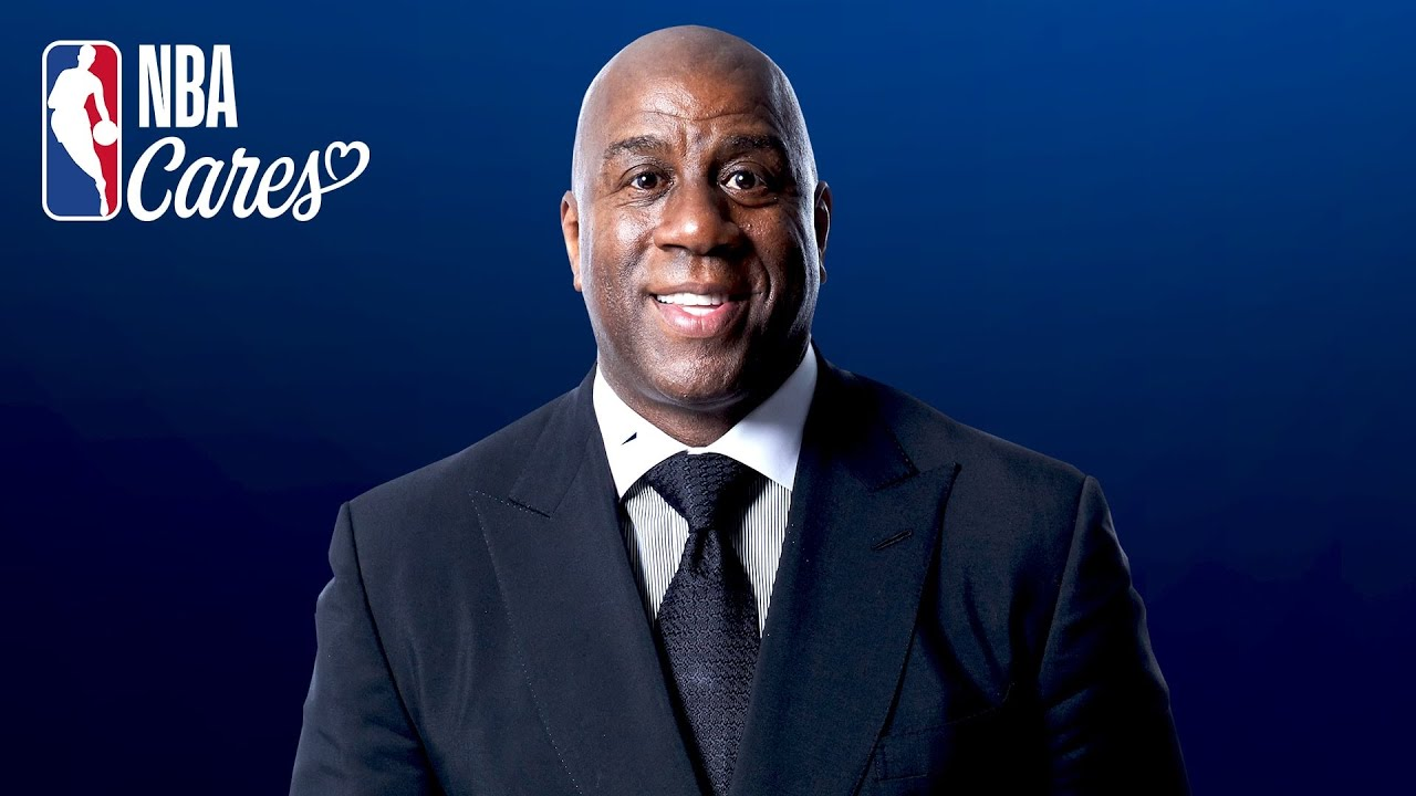 A message from Magic Johnson