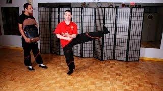 How to Do a Side & Slant Kick | Wing Chun
