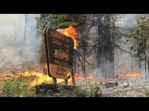 Update on the fire in Yosemite.....
