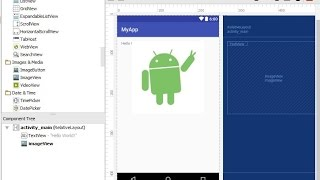 How to add images to Android Studio -  How to display images in app - Android Studio Tutorial