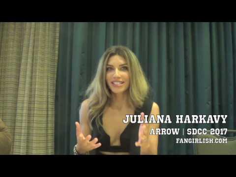 'Arrow' SDCC 2017 : Juliana Harkavy