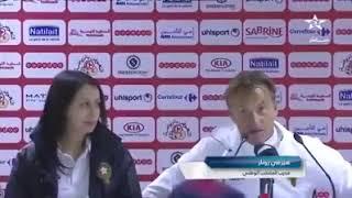 L'entraîneur du Maroc sous le charme d'Aymen Ben Mohamed (vidéo)