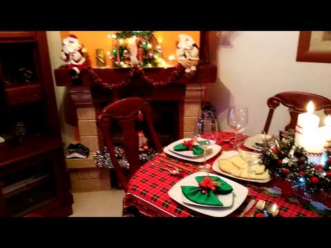 Navidad 2015 mesa