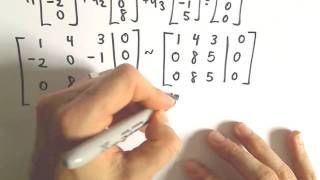 Linear Independence and Linear Dependence, Ex 1