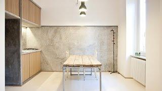 Апартаменты в индустриальном стиле в Турине(Эта небольшая квартира площадью 60 кв. метров расположена в Турине, Италия. Проект получил название 3 Vaults..., 2015-06-09T11:38:12.000Z)