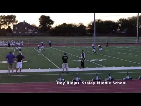 Roy Riojas 8th grade Staley middle school 2016