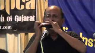 Jara Hole Hole Chalo More Sajana on Harmonica by Nachiketa Desai