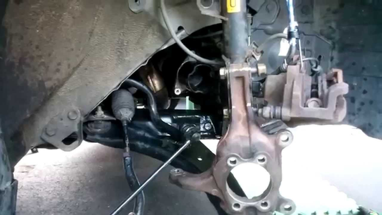 Update Nissan Rogue Front Axle Hub Control Arm