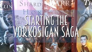 Starting the Vorkosigan Saga by Lois McMaster Bujold   #booktubesff
