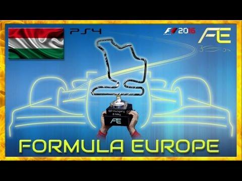 Formula Europe #FECL 2017 - 03 Hungarian GP Hungaroring (F1 2016) 18.05.17 - Live Streaming 1080p HD