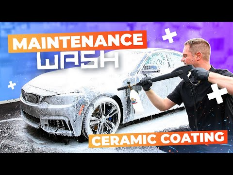 HOW TO DO A MAINTENANCE WASH on a Ceramic Coated Car !!!