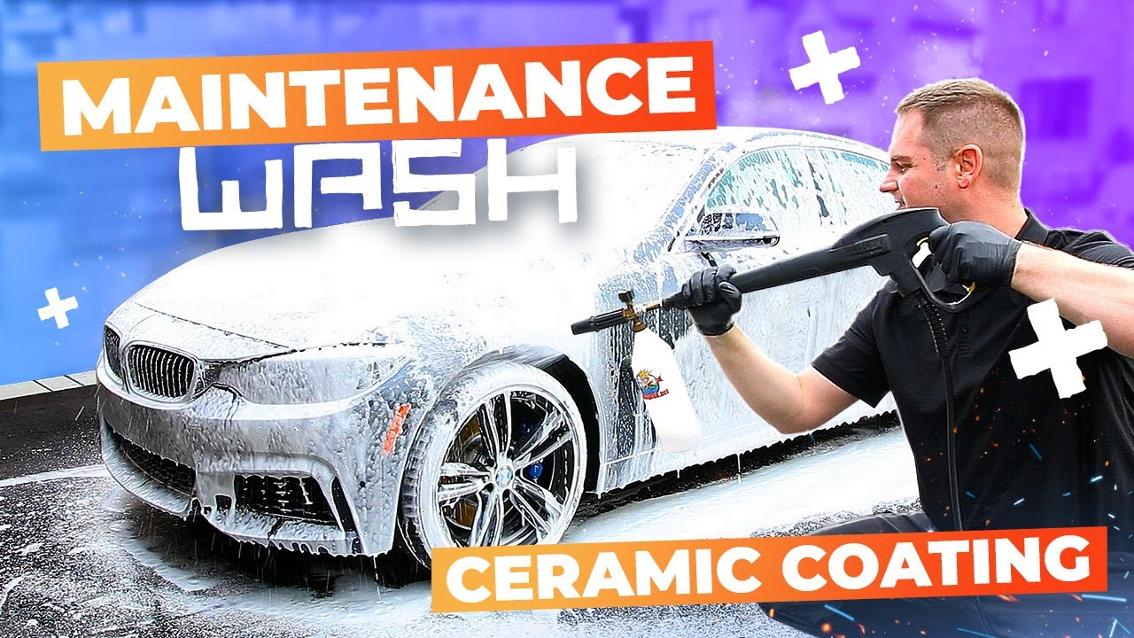 How To Do A Maintenance Wash On A Ceramic Coated Car Youtube