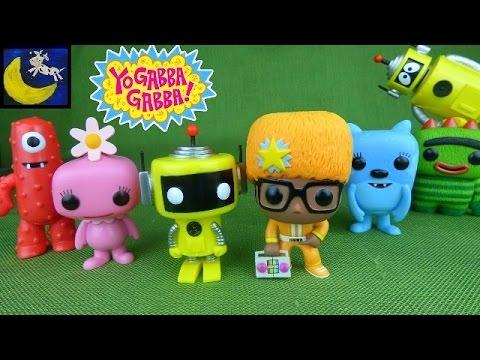 Yo Gabba Gabba Funko Pop Collector Toys Unboxing PLUS Plex the Robot Flashlight from Spin Master!