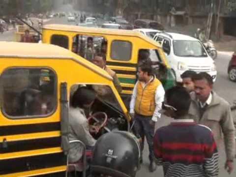Allahabad police maar peet