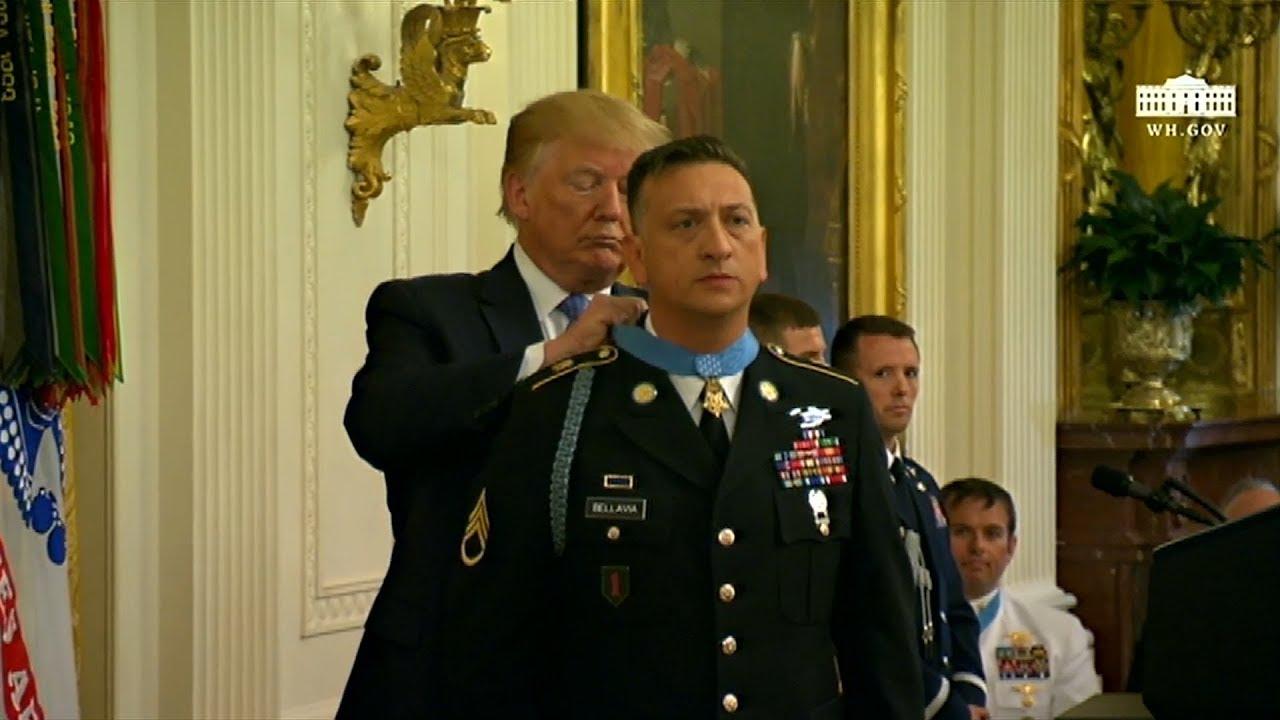 US Army Medal of Honor Staff Sergeant David Bellavia