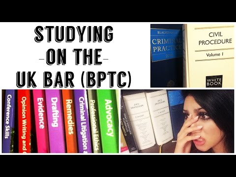 Studying On The UK BAR?!! (BPTC) | idylle LAW DIARIES