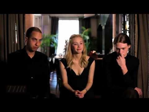 Brandon Cronenberg, Sarah Gadon, Caleb Landry Jones 'Antiviral' TIFF 2012