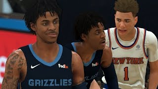 NBA 2K20 LaMelo Ball My Career Ep. 3 - Ja Morant and LaMelo Go At It!