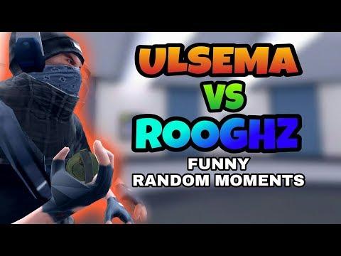Critical Ops - Funny Random Moments Ft. ROOGHZ (1 VS 1)
