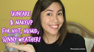 Skincare & Makeup for Hot, Humid Weather! | Rustyshoes92 #BeautyBoundAsia #bbachallenge1