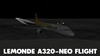 LeMonde A320-NEO Flight & Q&A Questions! | Roblox
