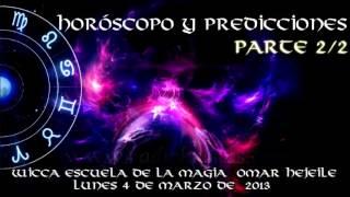 ORÁCULO; HORÓSCOPO Y PREDICCIONES parte 2/2