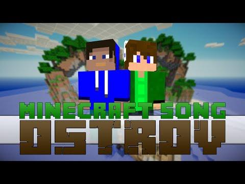 """♪ Minecraft - Český/Slovenský Minecraft Song 2014/2015 - """"OSTROV"""""""