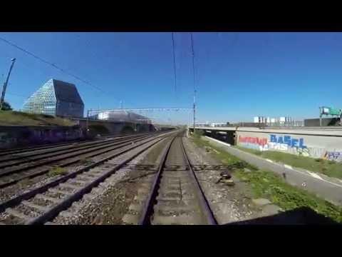 Verbindungsbahn Basel RB - Basel Bad Rbf - Weil am Rhein