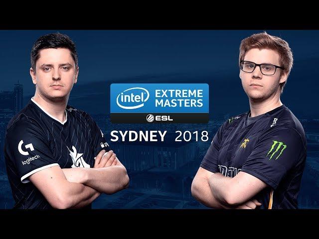 CS:GO - G2 vs. Fnatic [dust2] Map 1 - Group B LB Ro8 #2 - IEM Sydney 2018
