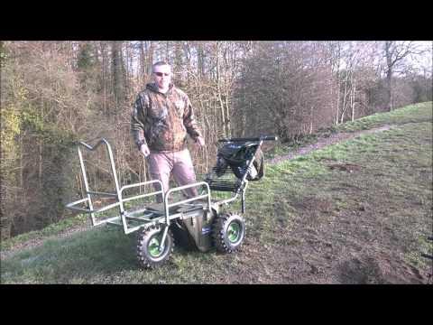 prestige carp porter triporter bigboy 3 wheel fishing barrow
