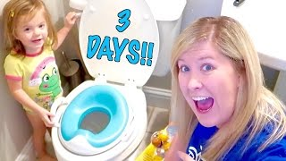 🚽 3 DAY POTTY TRAINING BEGINS! 💩