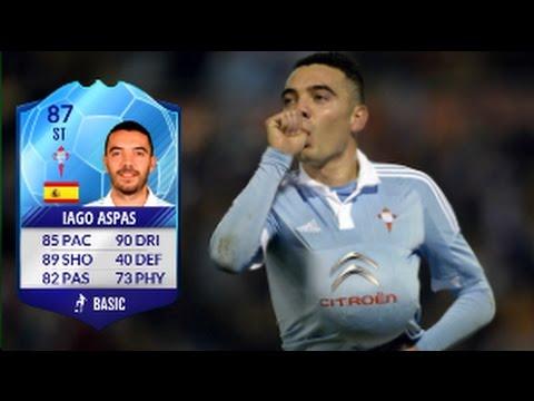 Fifa 17 Iago Aspas TOTT Review