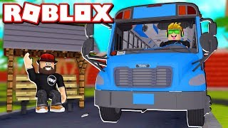 WORKING AS A BUS DRIVER in ROBLOX VEHICLE SIMULATOR | DRAG RACES | CAR STUNTS