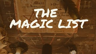 The Magic List (Streamlined Magic with Ariel Gatoga)
