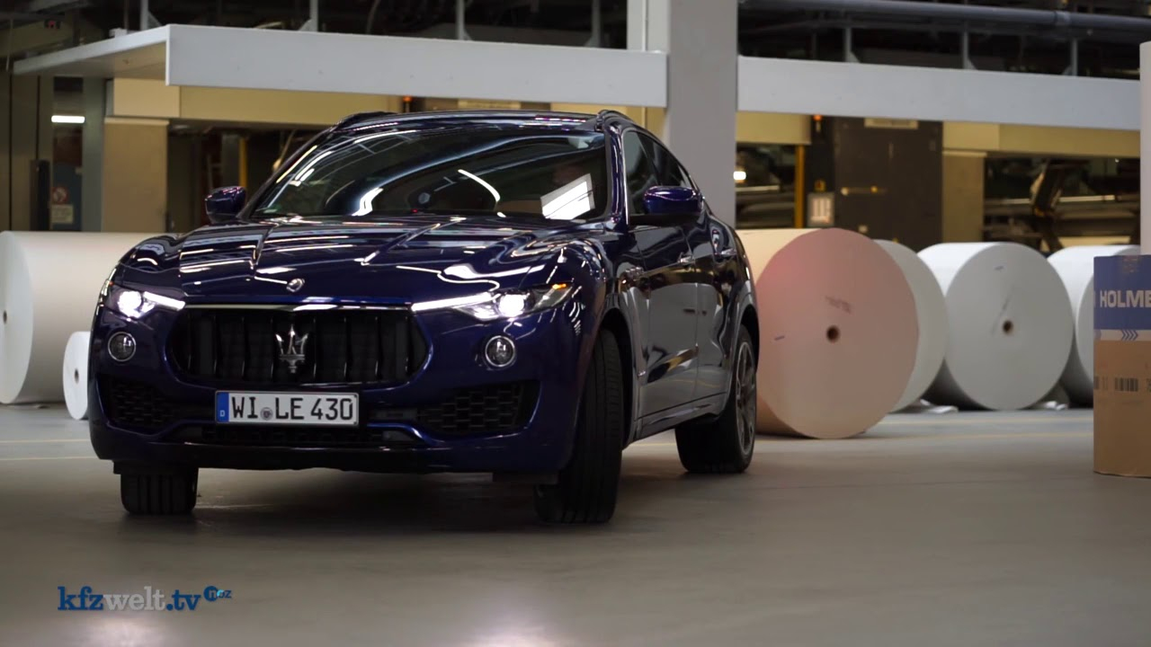 test: maserati levante, der mediterrane sturm - kfzwelt.tv - youtube
