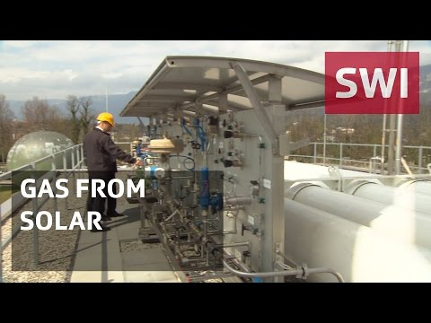 Getting gas from solar power