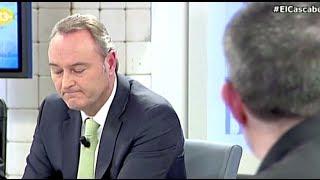 El President Alberto Fabra preguntat pel vídeo on fa el ridícul parlant valencià