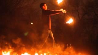 видео fire show