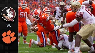 Florida State vs. Clemson Football Highlights (2017)