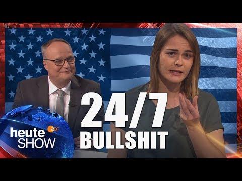 Hazel Brugger fordert Nachsicht für Donald Trump   heute-show vom 26.01.2018