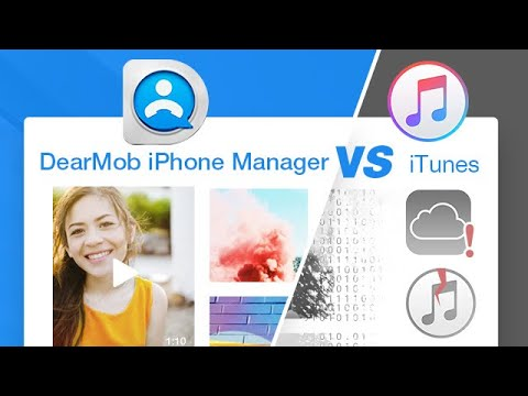 ITunes Vs DearMob IPhone Manager – Best ITunes Alternative