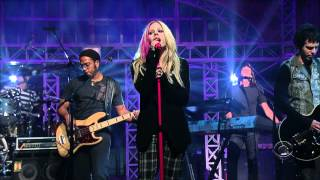 Gambar cover Avril Lavigne - When Youre Gone - Live on David Letterman 09/05/2007 HD