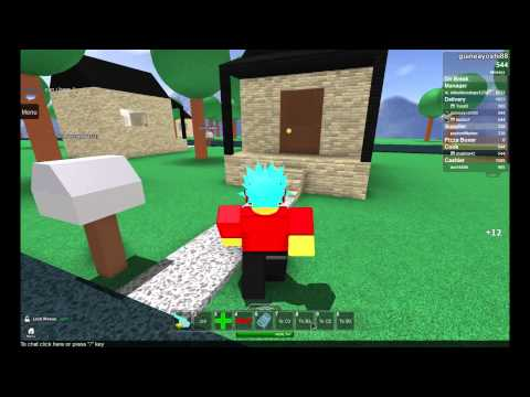Roblox Work at a Pizza Place [Episode 1] Crazy Co-workers
