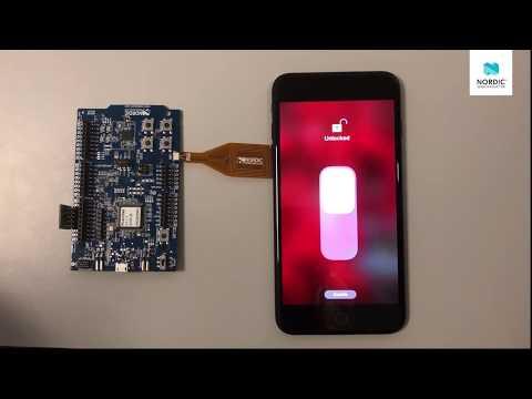 nRF5 SDK for HomeKit and NFC demo - YouTube