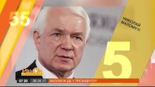 Николай Маломуж ответил на 55 провокационных вопросов