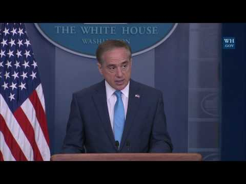 Briefing with Secretary of Veterans Affairs David Shulkin